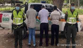 En Montería capturan en flagrancia a tres hombres por tráfico de migrantes - Caracol Radio