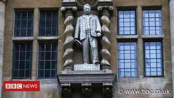 Cecil Rhodes: Oxford lecturers boycott Oriel College over statue decision