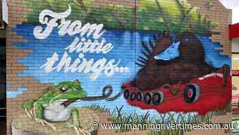 Free mural workshop at Old Courthouse Wingham - Manning River Times