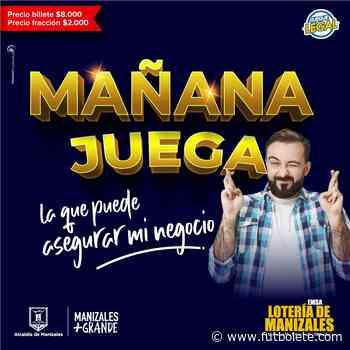 Resultado de la Lotería de Manizales: miércoles 9 de junio del 2021 - Futbolete