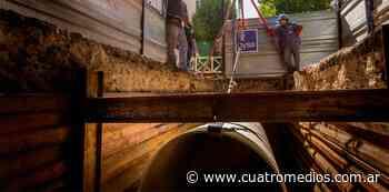 AySA realiza trabajos de mejoras y mantenimiento en Quilmes - Cuatro Medios