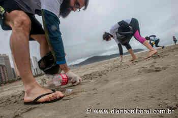Limpeza na orla de Praia Grande retira mais de 8 mil bitucas de cigarro - Diário do Litoral