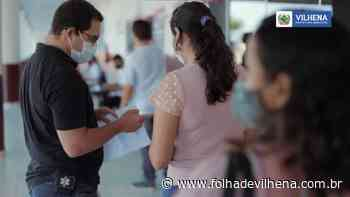 Vilhena já aplicou mais de 80% das doses recebidas e atinge marca de 27 mil vacinas aplicadas, veja dados ⋆ Folha de Vilhena - Folha de Vilhena