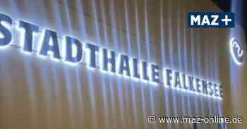 Stadthalle Falkensee: Knapp 400 000 Euro für Licht und Ton - Märkische Allgemeine Zeitung