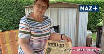 Rentnerin aus Falkensee findet 60 Jahre alte MAZ - Märkische Allgemeine Zeitung