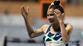 Letesenbet Gidey: Ethiopian breaks two-day-old women's 10,000m world record