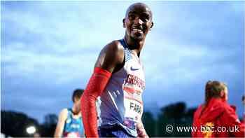 Mo Farah: Olympic star still hopes to make Tokyo Games