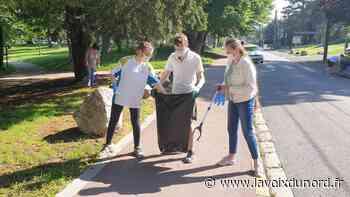 Roncq: une marche ludique et citoyenne pour ramasser les déchets - La Voix du Nord