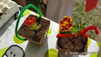 Atelier rempotage pour les enfants Jardin de Relais Nature - Unidivers