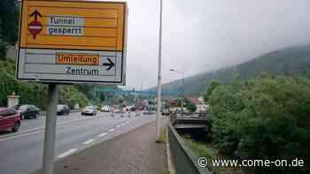 Plettenberg: Darum wird der Hestenbergtunnel für mehrere Tage gesperrt - come-on.de