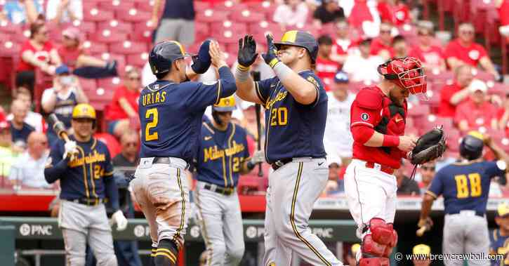 Brewers stay hot as they win 7-2 against the Reds