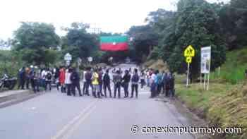 Indígenas vuelven a establecer punto de protesta sobre la vía Mocoa – Pitalito - Conexión Putumayo