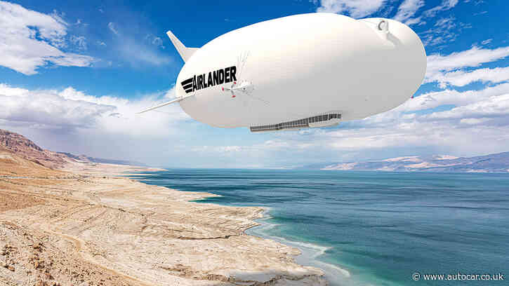 Matt Prior: Airships are back in the news - it's about time