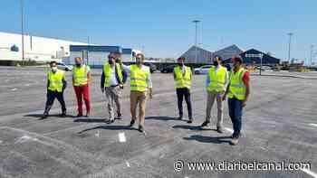 El puerto de Santander culmina su espacio provisional para vehículos - El Canal Marítimo y Logístico