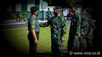 Peristiwa Mengharukan Terjadi di Markas Guntur Geni Kostrad TNI - VIVA - VIVA.co.id