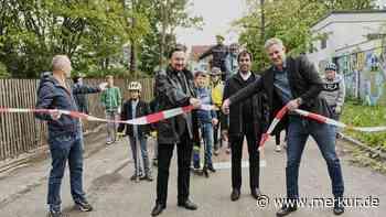 Anlage für Inliner, Skateboardfahrer und BMX-Radler in Erdweg eröffnet - Merkur Online