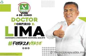 Tras fingir secuestro, Porfirio Lima logra 1.8% de votos en Acajete - Municipios Puebla