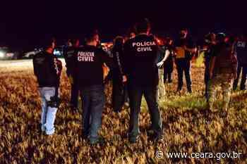 Operação deflagrada em Sobral resulta na prisão de 20 pessoas e na apreensão de entorpecentes - Ceará
