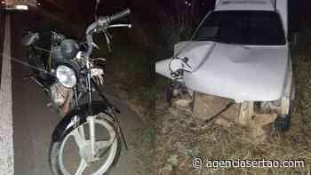 Motociclista morreu após acidente com carro na BR-030 em Guanambi - Agência Sertão