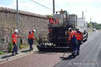 4,5 kilomètres de rues refaites à Vierzon avant le Tour de France - Le Berry Républicain