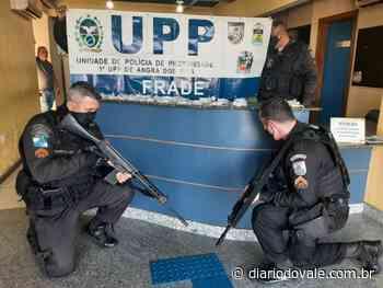 PM prende dois suspeitos de tráfico de drogas em Angra dos Reis - Diario do Vale
