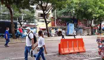 Inició la reubicación de los vendedores estacionarios en el Paseo Bolívar - Caracol Radio