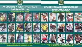 Estos son los más buscados por vandalismo en Barranquilla - Caracol Radio
