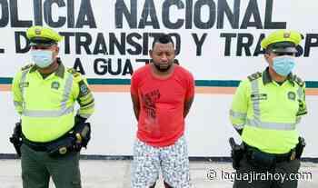 Capturado alias 'Malayo', señalado de asesinar a una persona en Riohacha - La Guajira Hoy.com