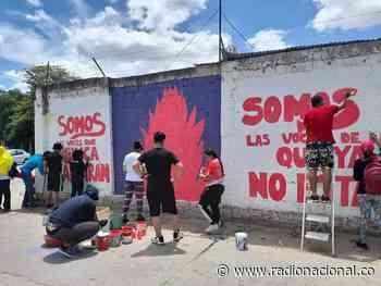 Riohacha: Borran murales creador por jóvenes del sector - http://www.radionacional.co/