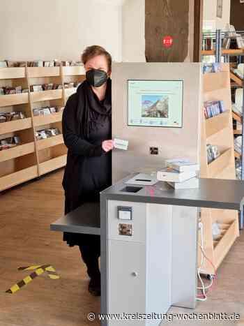 Winsener Stadtbücherei im Marstall ist mit Selbstverbuchung gestartet - Kreiszeitung Wochenblatt