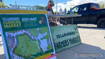 Yellowknife farmers' market feels 'bigger, more joyous' in 2021 - Cabin Radio