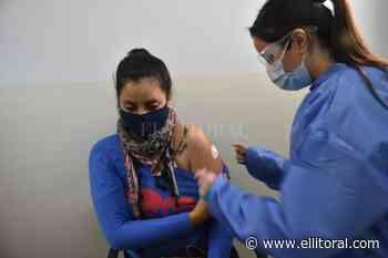 Coronavirus en Santa Fe: Colocan segundas dosis en el viejo Iturraspe - El Litoral
