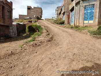 Proyecto está en total abandono en Alto Santa Rosa - Los Andes Perú