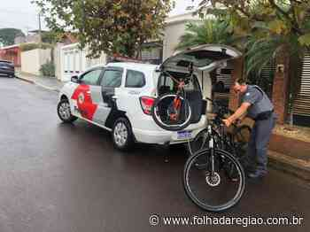 """""""Especialista"""" em furto de bikes caras é preso pela PM em Birigui - Folha da Região"""