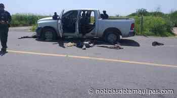 Confirman tres abatidos en la carretera Camargo- Reynosa - Noticias de Tamaulipas