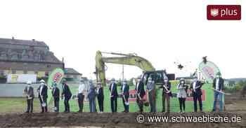 Spatenstich für den Bau einer neuen Behinderteneinrichtung in Bopfingen - Schwäbische