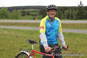 Bridge Lake cyclist, 83, prepares to ride for cure – 100 Mile House Free Press - 100 Mile Free Press