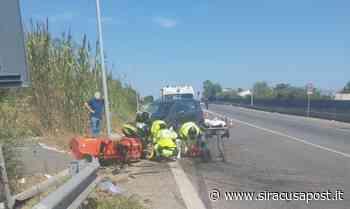 Auto tampona trattore sulla strada per Floridia, il conducente del mezzo agricolo in elisoccorso a Catania - Siracusa Post