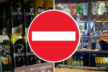 Herefordshire teen banned from every pub, bar, and off-licence in three counties - Hereford Times