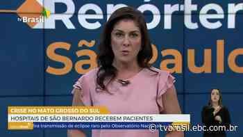 Hospitais de São Bernardo recebem pacientes de Dourados | Repórter São Paulo | TV Brasil | Notícias - EBC