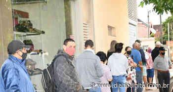 Lockdown na cidade de Dourados causa aglomeração no comércio das cidades vizinhas - Diario Digital