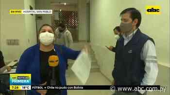 Denuncian que no vacunarán a embarazadas en hospital San Pablo - ABC Noticias - ABC Color