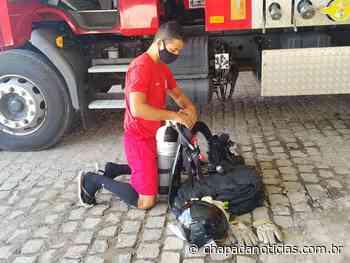 Treinamentos diários fazem parte da rotina dos bombeiros de Itaberaba e de Lençóis - chapada notícias