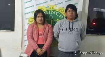 Policía captura a pareja de extorsionadores en Trujillo - LaRepública.pe