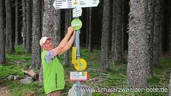 Standortfaktor im Tourismusland - Schwarzwaldverein Schonach will Wegearbeit bekannter machen - Schwarzwälder Bote