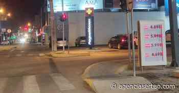 Gasolina volta ao patamar de R$6 em Guanambi - Agência Sertão