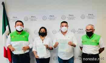 Altotonga firman convenio para sitio controlado de disposición final - NORESTE