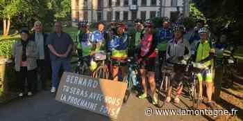 Les licenciés sont partis hier d'Ussel pour la randonnée qui les mène jusqu'à dimanche sur les routes - La Montagne