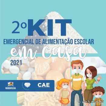 Inscrições para receber o kit de alimentação escolar estão abertas em Maravilha - WH3