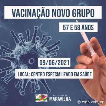 Maravilha amplia vacinação para pessoas com 57 anos ou mais - WH3
